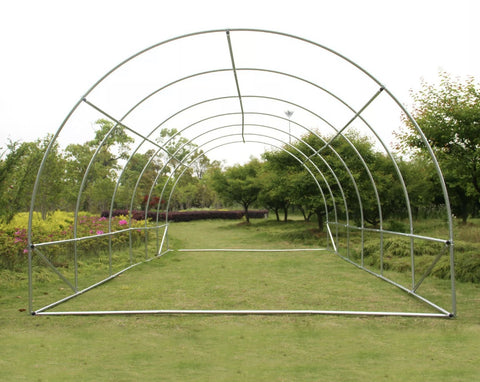Image of 10m x 3m Polytunnel Greenhouse Garden Tent Pollytunnel