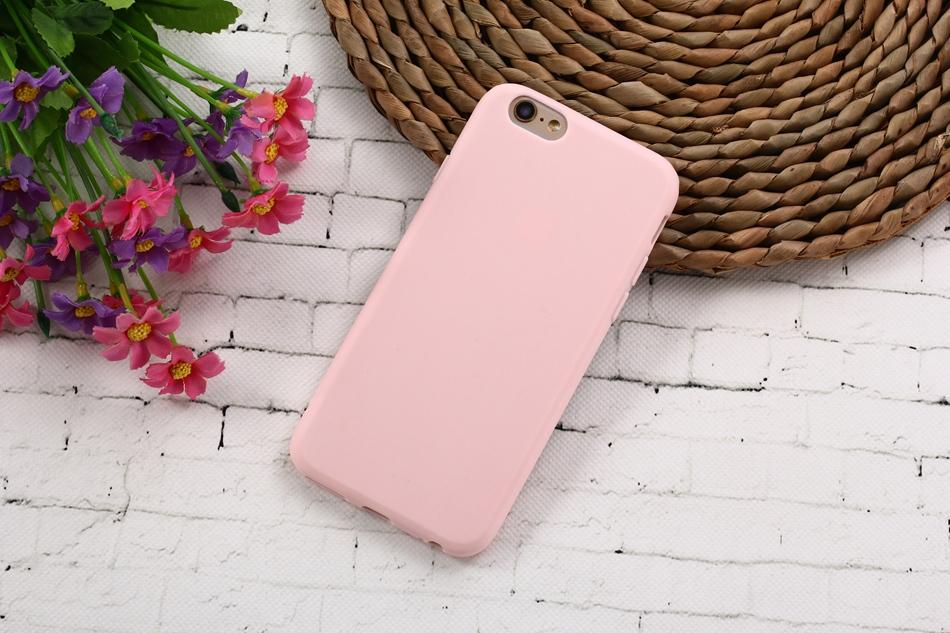 Colorful Happy TPU Silicone Frosted Matte Case for iPhone 6 6S 5 5S SE 8 Plus X Soft Back Cover for iPhone 7 7Plus - Free Productz