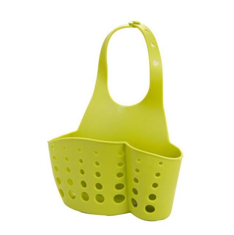 Portable Home Kitchen Hanging Drain Bag Basket Bath Storage Tool Sink Holder Soap Holder Bathroom