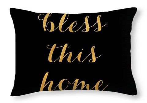 Image of Bless This Home Pillow