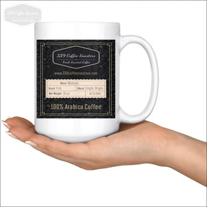 15Oz Black Label Mug - Drinkware 339 Coffee Roasters
