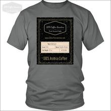 Black Label Shirt - District Unisex Shirt / Grey / S - T-Shirt 339 Coffee Roasters