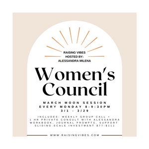 March Women's Council w/ Alessandra