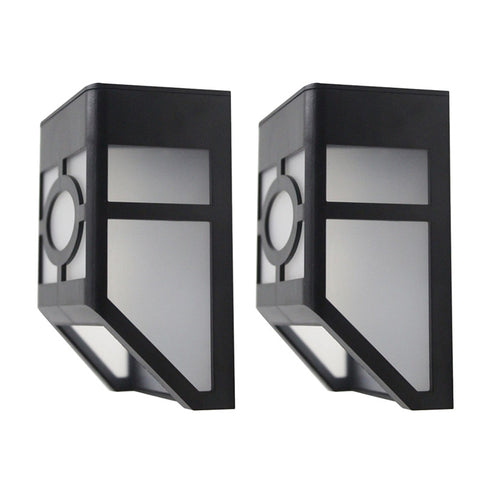 2 LEDs Solar Wall Light-Smart Garden Shop
