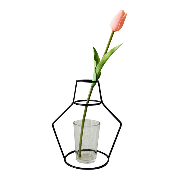 Iron Shelving Vase