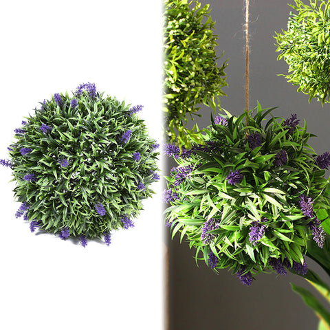 30cm Artificial Lavender Ball-Smart Garden Shop