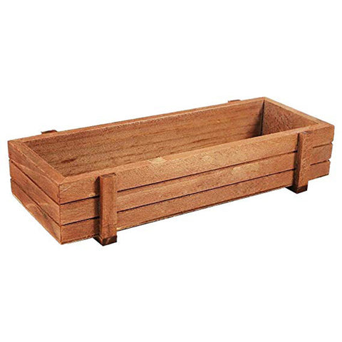 2 Pcs Wooden Plant Container