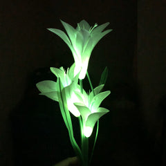 Solar Powered Lily Flower Lights-Smart Garden Shop