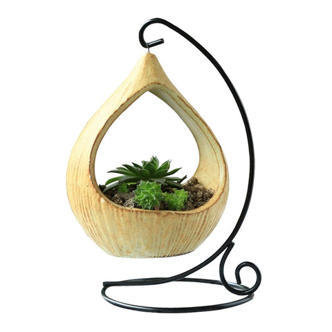 Decorative Ceramic Hanging Planter-Smart Garden Shop