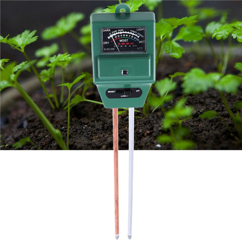 3-in-1 Plant Soil PH Tester-Smart Garden Shop