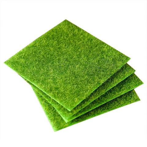 4 Pcs Artificial Grass Landscape