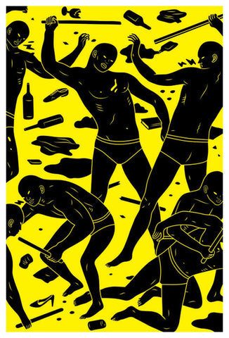 CLEON PETERSON Postermat Limited Edition Poster, 2011