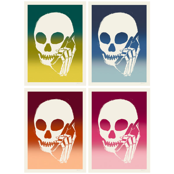 SKULLPHONE Limited Edition Print Set, 2019 Fade