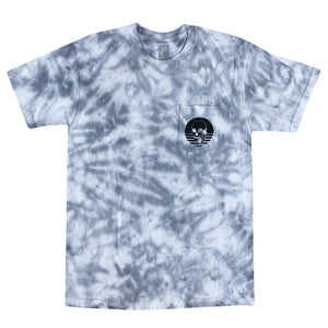 NEW! SKULLPHONE GREY TIE-DYE Frequency tee