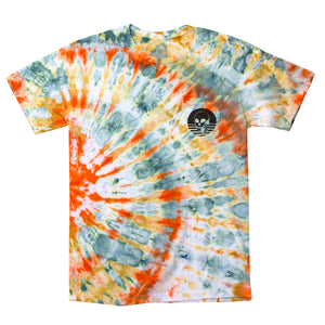 NEW! SKULLPHONE TIE-DYE Frequency tee