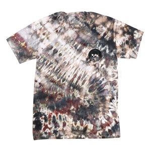 NEWW! SKULLPHONE TIE-DYE Frequency Pocket tee