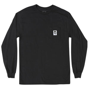 New! SKULLPHONE Custom Longsleeve Pocket tee
