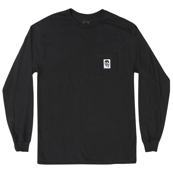 SKULLPHONE Custom Longsleeve Pocket tee