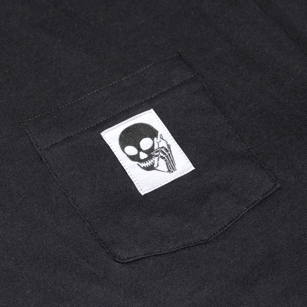 New! SKULLPHONE Custom Pocket tee