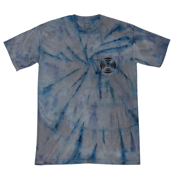 New! SKULLPHONE Sayonara Tie Dye Pocket tee