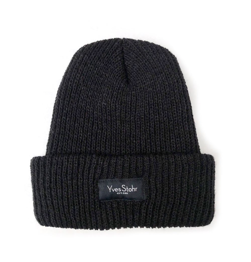 New! Yves Stohr Soft Shallow Beanie