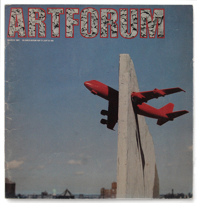 ARTFORUM, March, 1981 :::