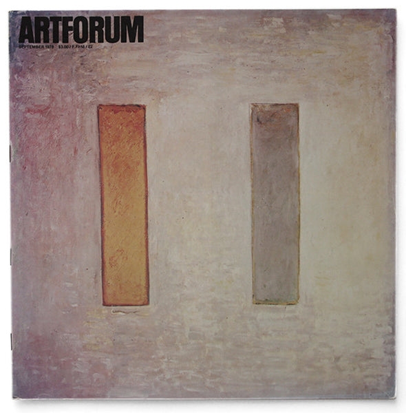 ARTFORUM, September, 1978 :::