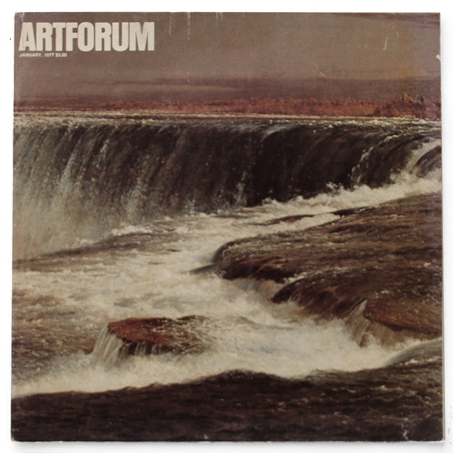 ARTFORUM, January, 1977 :::