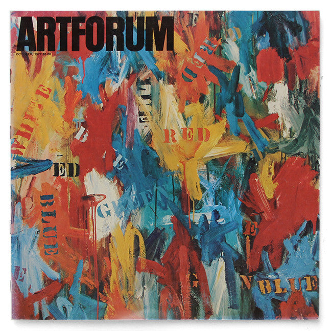 ARTFORUM, October, 1977 :::