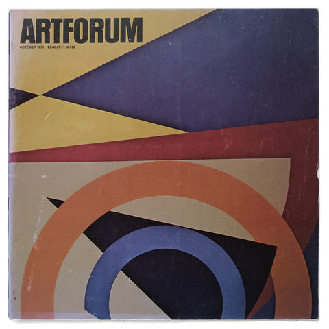 ARTFORUM, October, 1978 :::