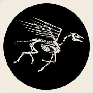 SKULLPHONE Pegasus, Natural White Limited Litho Print, 2007