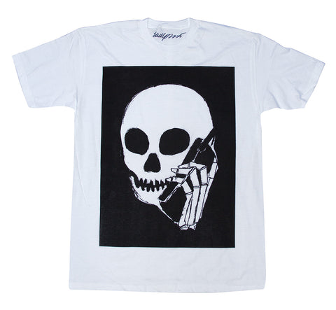 New! SKULLPHONE Full Tshirt White