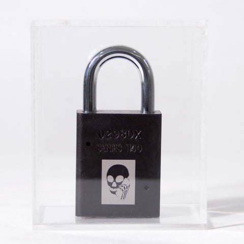 Skullphone Lock - Black