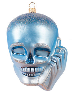 Skullphone Holiday Ornament - Classic Winter