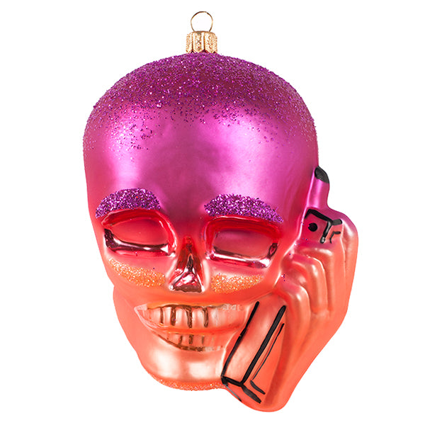 Skullphone Holiday Ornament - Full Edition/Variable Numbers