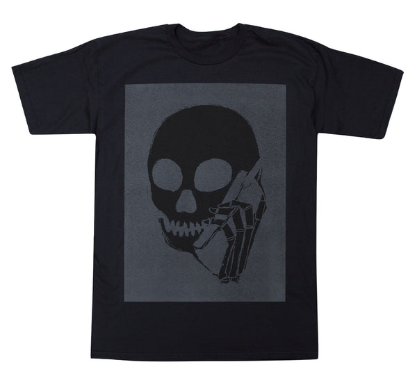 New! SKULLPHONE Full Tshirt Black