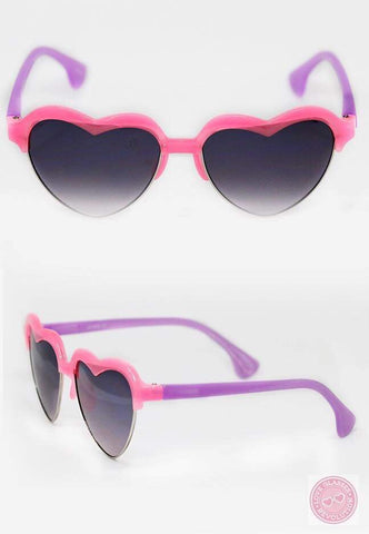 Youth Colored Love Glasses