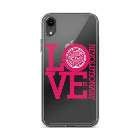 Love Glasses iPhone Case