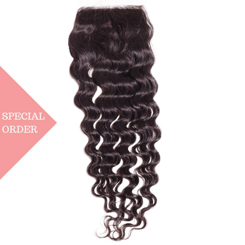 Brazilian Loose Deep Silk Base Closure