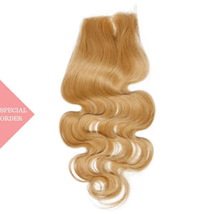 Honey Blonde Body Wave Closure