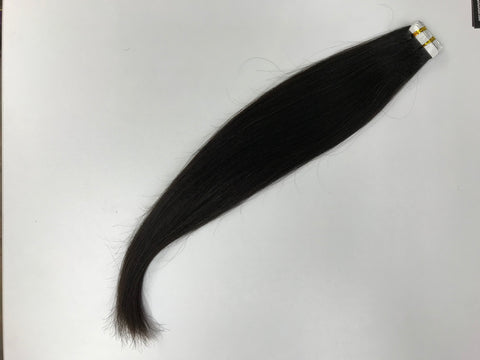 Relaxed Straight (like Yaki) Textured Tape-In Extensions