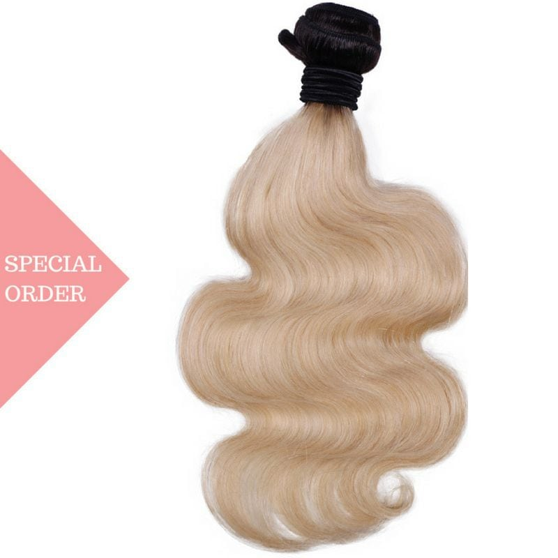 Russian Blonde High Ombre Body Wave
