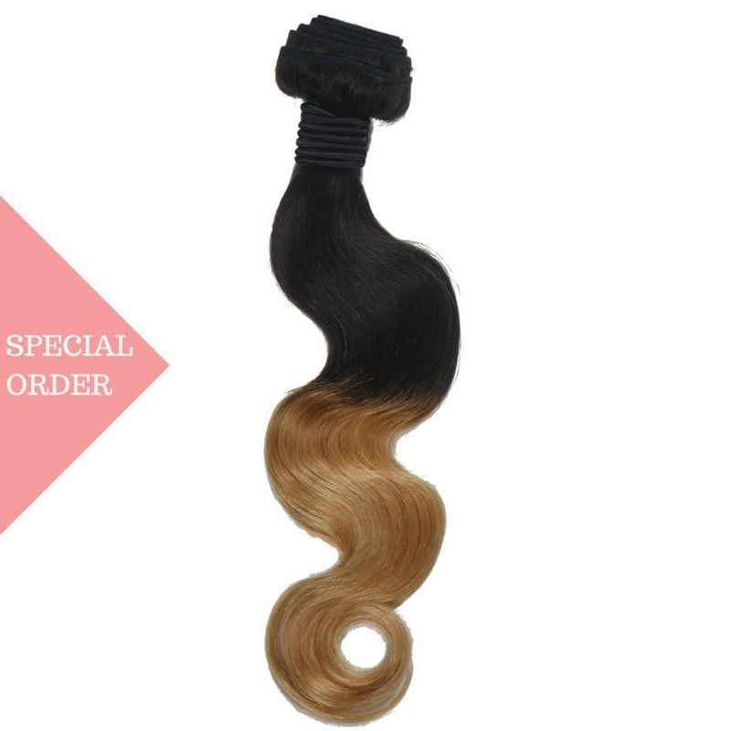 Honey Blonde Ombre Body Wave