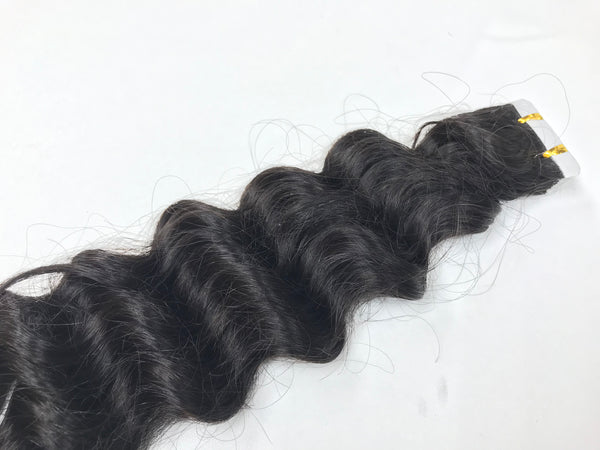 Deep Wave Textured Tape-In Extensions