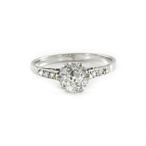 Engagement Edwardian Diamond Solitaire Ring