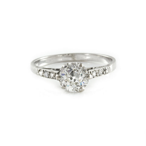 *NEW* Engagement Edwardian Diamond Solitaire Ring