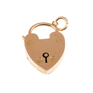 *NEW* Edwardian Heart Padock Pendant, 9ct Rose Gold