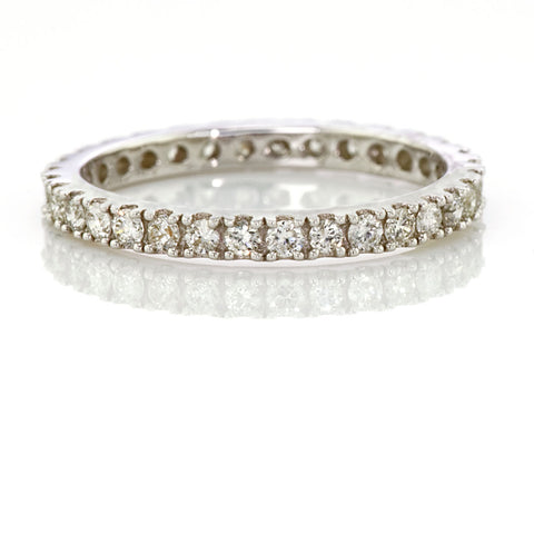Vintage Diamond Eternity Ring Band 0.52carat VS-GH
