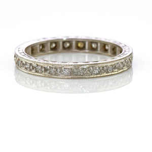 Art Deco Diamond Eternity Ring 0.25carat