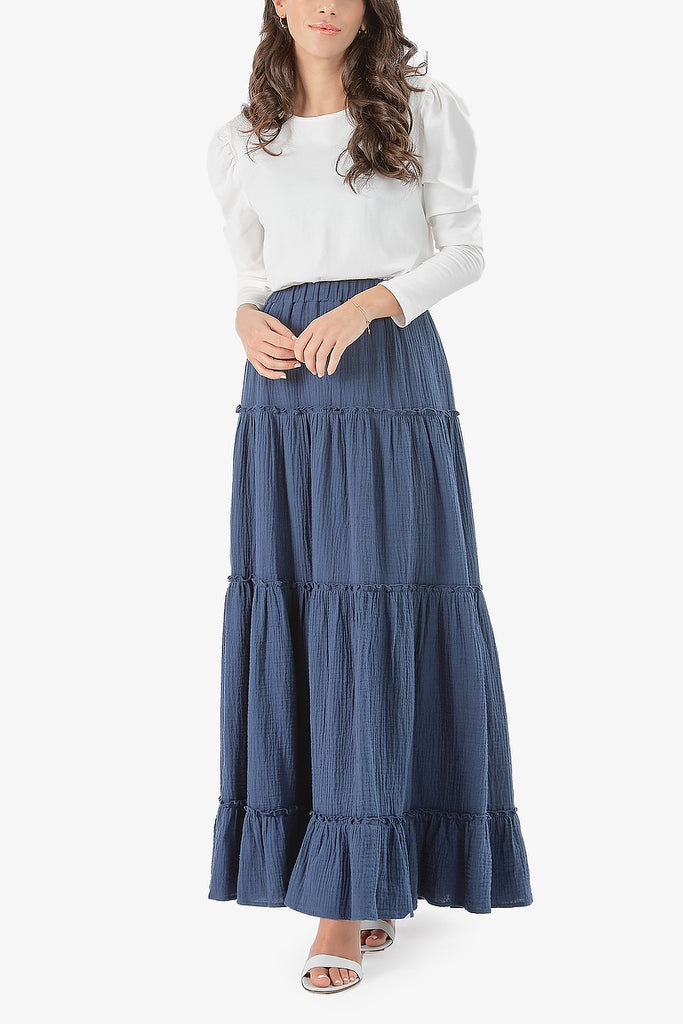 NAHLA SKIRT (Blue)